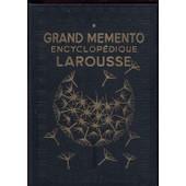 Grand Memento Encyclopedique Larousse - Tomes 1 Et 2 - 1937 de Dictionnaire, Larousse