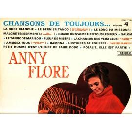 chansons de toujours volume 4 - La robe blanche, le dernier tango, malgré tes serments, le tango de Marilou, Ramona, Rosalie elle est partie..