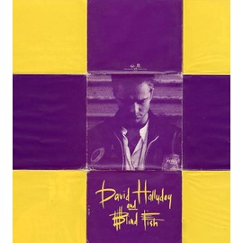 DAVID HALLYDAY and BLIND FISH : HEROS - CD 1 titre + Pochette poster / 1634 Scooti Bros. Phonogram / 1993