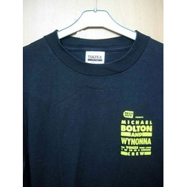 Michael BOLTON & WYNONNA - T Shirt The VOICES tour 1998 CREW