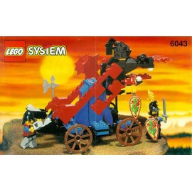 Lego System 6043 : Catapulte (Chateaux)