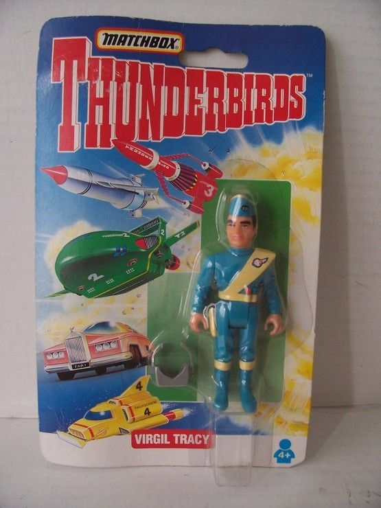 Thunderbirds Blister De Virgil Tracy Matchbox