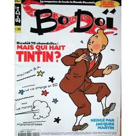Bo Do� N� 15 : Couverture Tintin