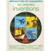 Decouvrir Et Connaitre Les Grandes Inventions de LOT, FERNAND