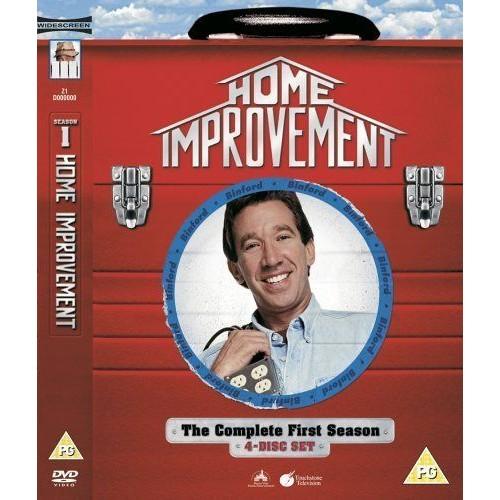 HOME IMPROVEMENT - SERIES 1 - COMPLETE (IMPORT)  (COFFRET DE 4 DVD)