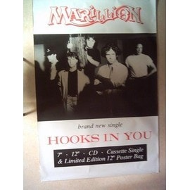 Marillion poster géant 152*101 promo hooks in you