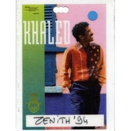 Pass Cheb Khaled - DiDi Tour - Zenith 1994