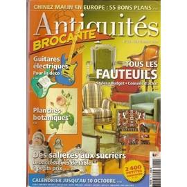 Antiquités Brocante N° 78 : Tous les fauteuils
