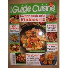 Guide Cuisine N� 88 : Inviter Petit Prix 10 Idees Riz