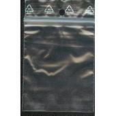 100 Pochons Plastique - Fermeture Zip - 60x80mm
