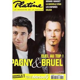 Platine N� 131 : Pagny Et Bruel:Duel Au Top