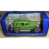 Tintin La Limousine Du Lotus Bleu