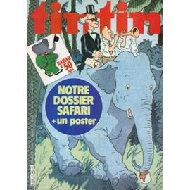 Nouveau Journal De Tintin N� 308 : Babar A 50 Ans, Dossier Safari + Poster