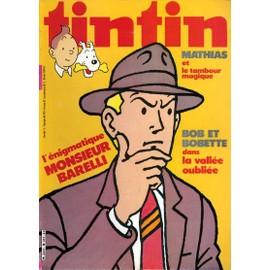 Nouveau Journal De Tintin N� 317 : Bob Et Bobette, Barelli, Mathias