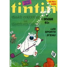 Nouveau Journal De Tintin N� 353 : Les Sports D'eau