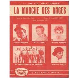"""la marche des anges (du film """"Un taxi pour Tobrouk"""", 1961) Charles aznavour / jacqueline françois / annie cordy / les compagnons de la chanson"""