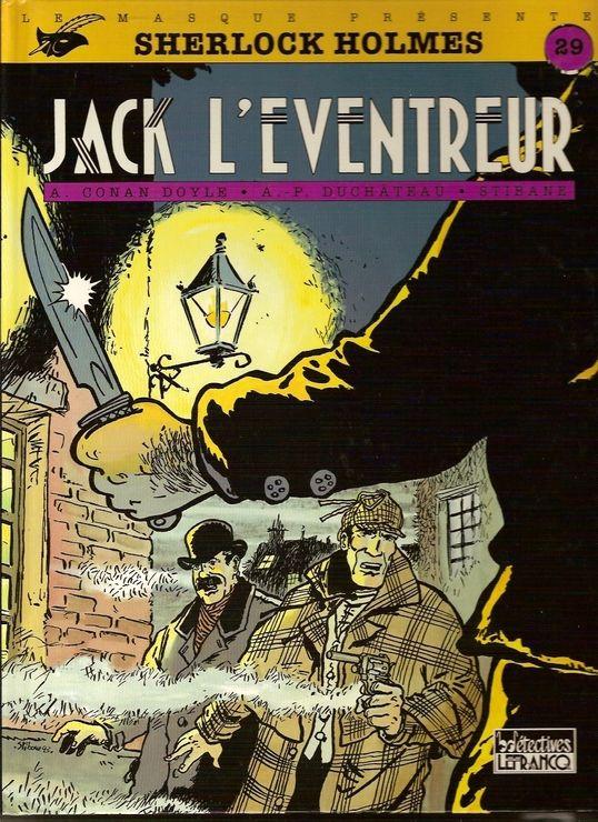 Sherlock Holmes, N° 4 - Jack l'éventreur