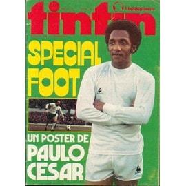 Tintin Nouvelle Serie Avec Le Poster Paulo Cesar N� 90