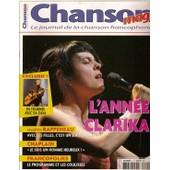 Chanson Mag N� 4 : Clarika, Da Silva, Martin Rappeneau, Anthony Chaplain, Manu Katch�, Art Mengo, Julien Clerc
