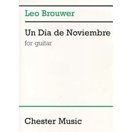 Un dia de noviembre Guitar