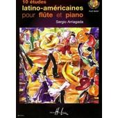 Dix Etudes Latino-Am�ricaines Fl�te Et Piano