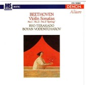 Violin Sonatas N� 1,3 & 5 (Ryo Tekarado, Boyan Vodenitcharov) - Ludwig Van Beethoven