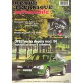Revue Technique Automobile N� 614 : �tude Opel Vectra Depuis Mod. 96 Moteur Essence 4 Cylindres