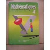 Mathematiques 4eme - Edition 1992 de Pierre-Henri Terracher