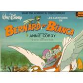 Walt Disney Pr�sente Les Aventures De Bernard Et Bianca ( Livre Disque) - Annie Cordy