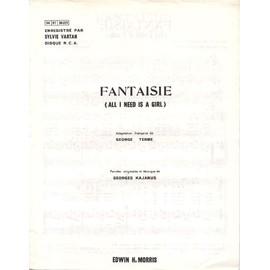 fantaisie (all I need is a girl) 1978 / Sylvie vartan