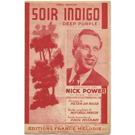 soir indigo (deep purple) 1945 / Nick power