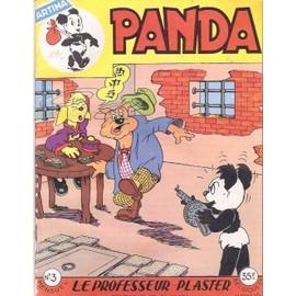 Panda N� 3 : Le Professeur Plaster