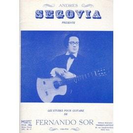 Fernando Sor, 20 études pour guitare
