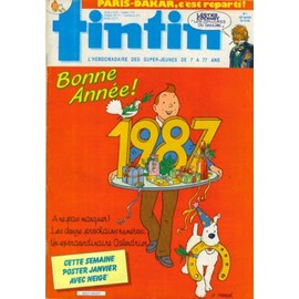 Tintin - Hebdomadaire Du 30 D�cembre 1986 N� 1