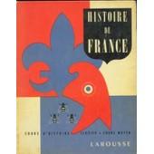 Histoire De France - Cours Moyen de CLOZIER