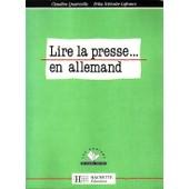 Lire La Presse En Allemand de Claudine Quatreville