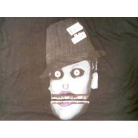 "t-shirt noir GORILLAZ 2006 "" justin timberlake zombie "" promo hors commerce"