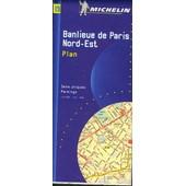 Banlieue De Paris - Banlieue Nord-Est, Plan, 1/15 000 de Collectif