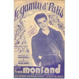 le gamin de paris -yves montand-1951