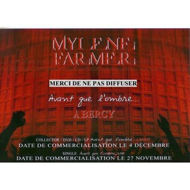 MYLENE FARMER  PLAN MEDIA  BERCY 2006