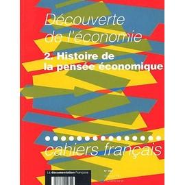 Cahiers Fran�ais N� 280 Mars-Avril 1997 : D�couverte De L'�conomie - Tome 2, Histoire De La Pens�e �conomique