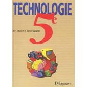 Technologie 5�me de Jean Cliquet