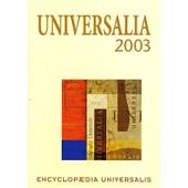 Universalia 2003 de Encyclopaedia Universalis
