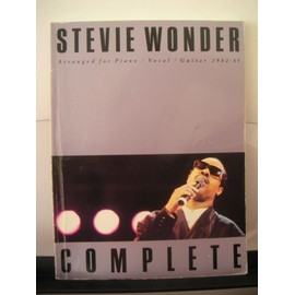 Stevie Wonder - Complete 1980-1985