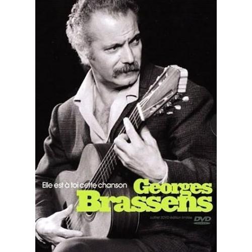 Georges Brassens : Elle Est À Toi Cette Chanson - Coffret 3 Dvd - Dolby Digital 5.1 Et Dts