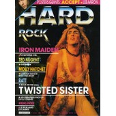 Hard Rock Magazine N� 21 : Iron Maiden - Ted Nugget- Molly Hatchet - Twisted Sister - Ratt...
