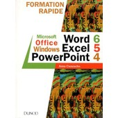Microsoft Office Windows - Word 6, Excel 5, Powerpoint 4 de Anne Caracache