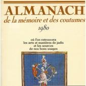 Almanach De La M�moire Et Des Coutumes 1980 de pierre barret