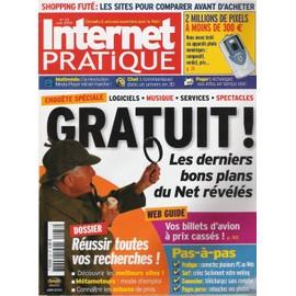 Internet Pratique N� 33 : Les Derniers Bons Plans Du Net Reveles