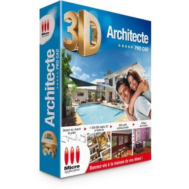3d architecte pro cad achat vente de logiciel pc for Architecte 3d micro application gratuit